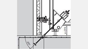 Spannstahl 1,53 m DW 20: Der Spannstahl 1,53 m DW 20 bietet eine ausreichende Länge beim Einsatz von Stützböcken SB und deckt gleichzeitig ein großes Spektrum bei größerem Wanddicken in Verbindung mit der VARIO Trägerschalung ab.