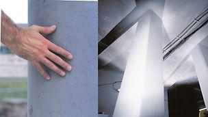 Pappsøyler stillas reis dekke forskaling domino Trio Quatro søyle panel dekke vegg OSB finer plater forbruk