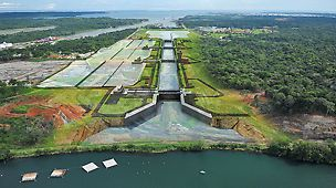 Project image of the new panama canal