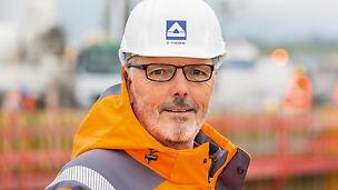 Porträt von Udo Töben, Oberpolier bei Hochtief Infrastructure GmbH (NL Deutschland Südwest)