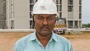 Jigar Sha, Bauleiter, PSP Projects Pvt. Ltd., Gujarat, Indien