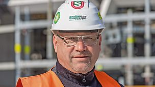 Porträt von Mario Donath, Projektleiter und Sicherheitsfachkraft bei Döhne & Kreyß GmbH, Leipzig