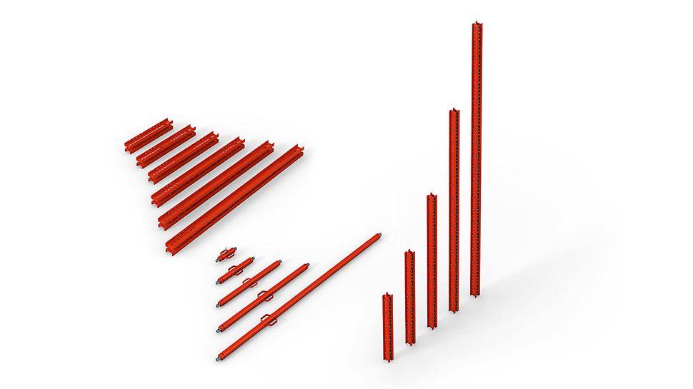 El principio PERI VARIOKIT: Estructuras de carga con sistema y económicas – material y conocimientos de un único proveedor