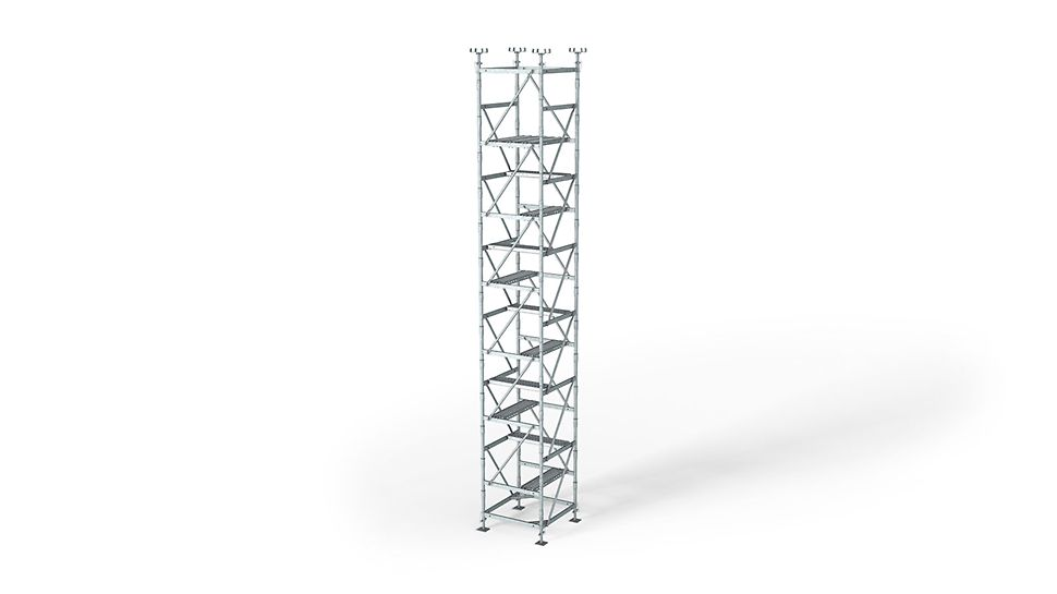 ST 100 Stacking Tower: The efficient shoring system with few system parts
