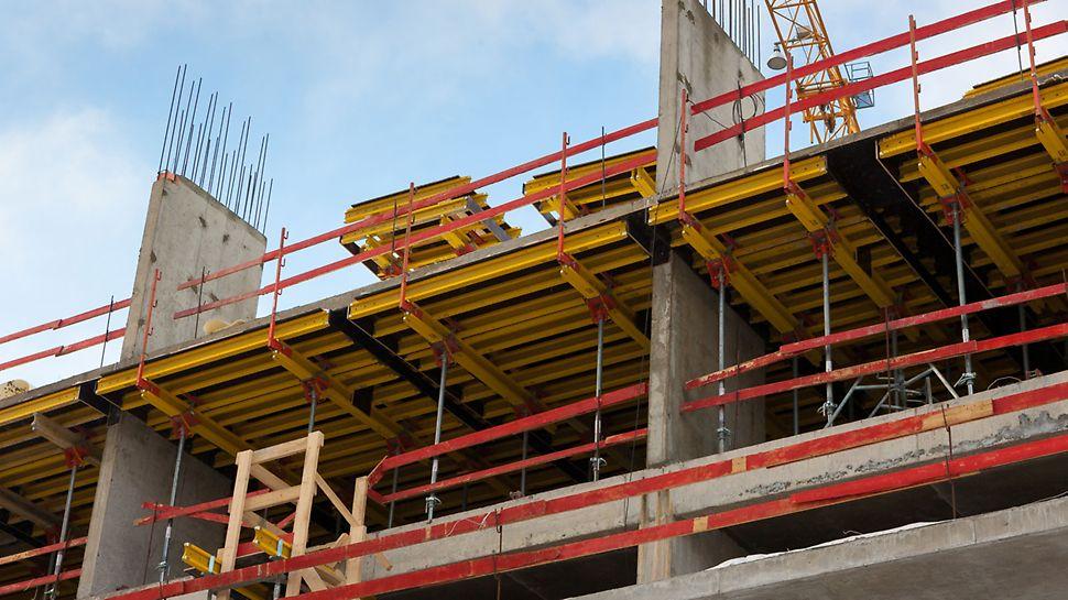 обвязочная балка, безопасность работ, безопасность строительства, безопасное бетонирование, жк символ, опалубка peri