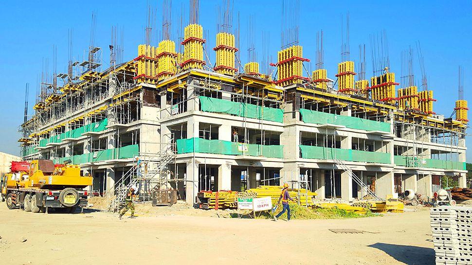 This project will define an elevated expectation for safety standards coupled with formwork production.