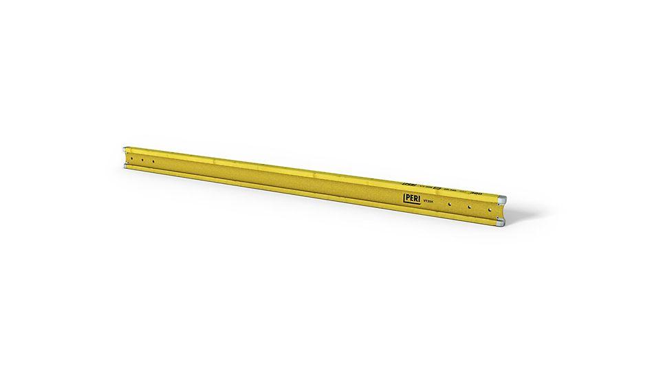 Dřevěný plnostěnný nosník PERI VT 20K je plnostěnný nosník s výškou 20 cm a optimální ochranou konců.