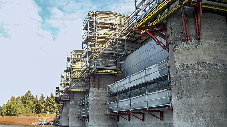 Rekonstrukce koruny a oprava návodního líce VD Kružberk