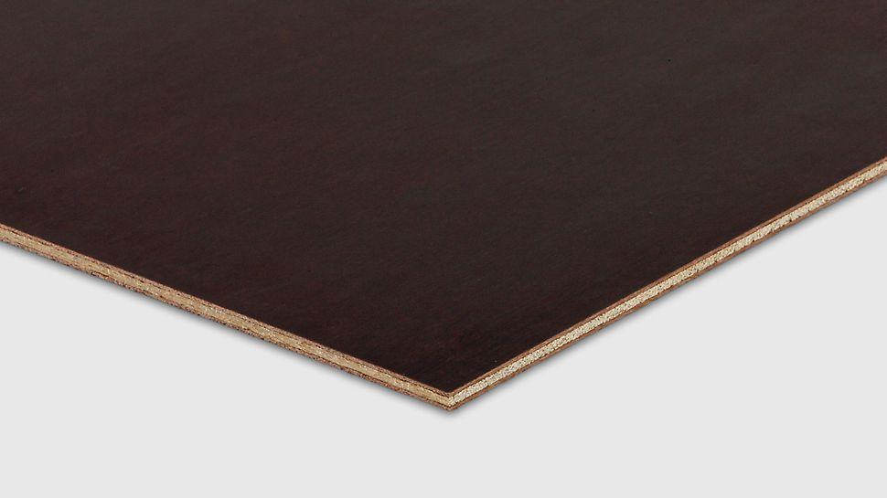PERI panel used as facing plywood on continuous support stillas reis dekke forskaling domino Trio Quatro søyle panel dekke vegg OSB finer plater