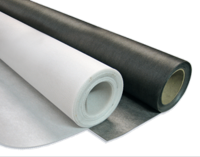 Zemdrain CPF liner, controls permeability formwork liner