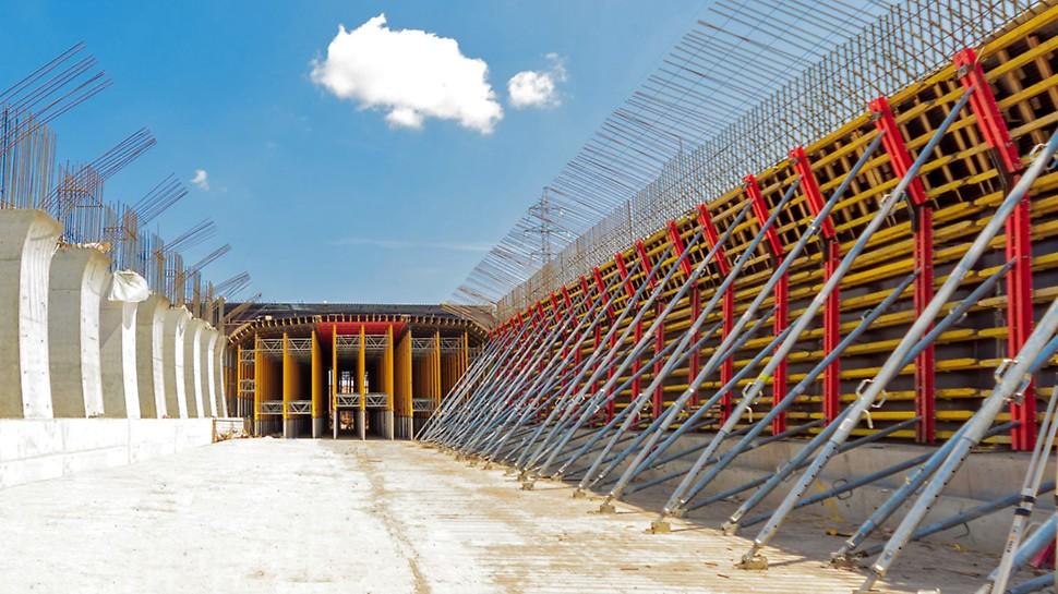 Строительство Московского шоссе в Самаре