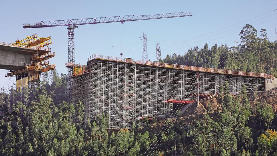 Subconcessão do Pinhal Interior, IC3 lanço Condeixa/Coimbra - Ponte sobre o Rio Ceira - Vista geral