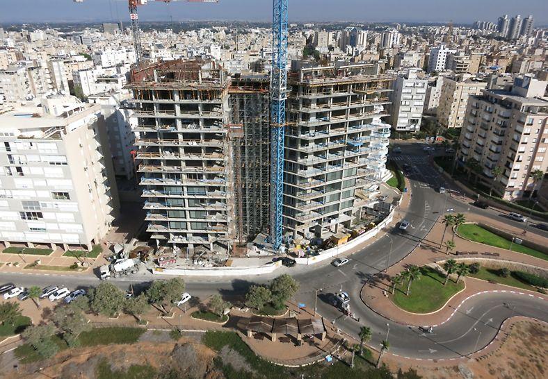 לגעת בים נתניה - בנייני מגורים יוקרתיים