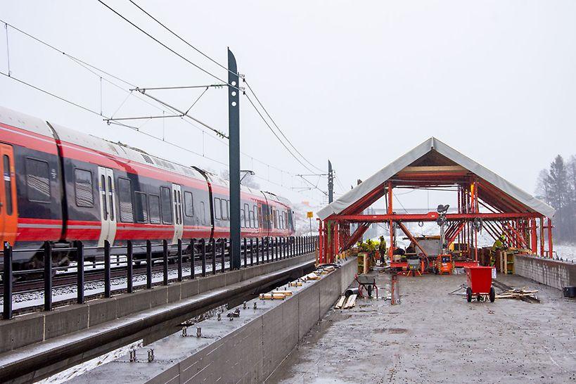 Ny jernbanestrekning
