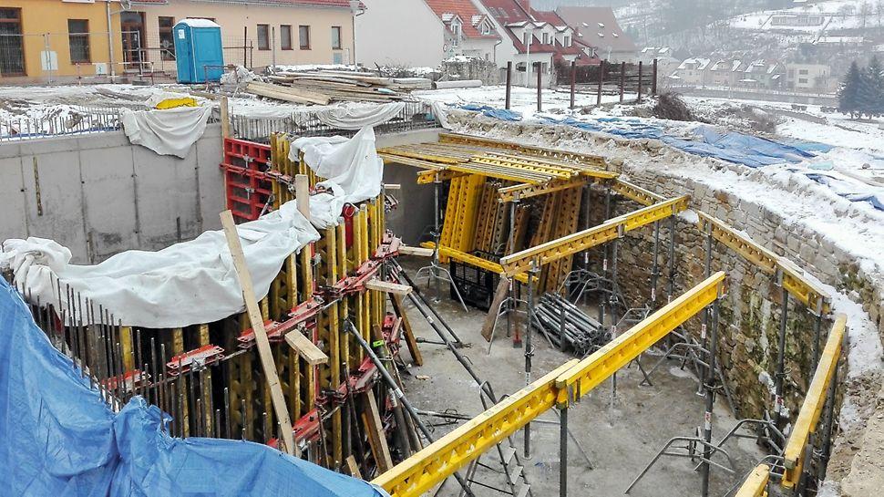Obnova južného opevnenia, Bardejov