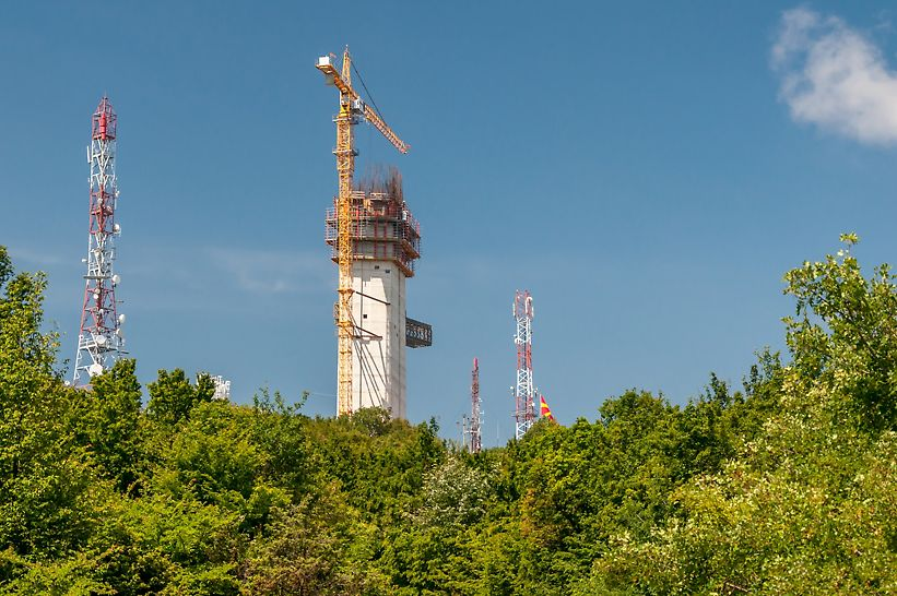 Antenski sistem za kontrolu i monitoring radiofrekvenci na teritoriji Republike Severne Makedonije
