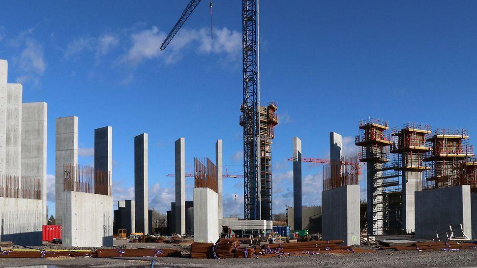Nya vattentornet i Helsingborg - projektet startade 2018 och ska stå färdigt under 2020