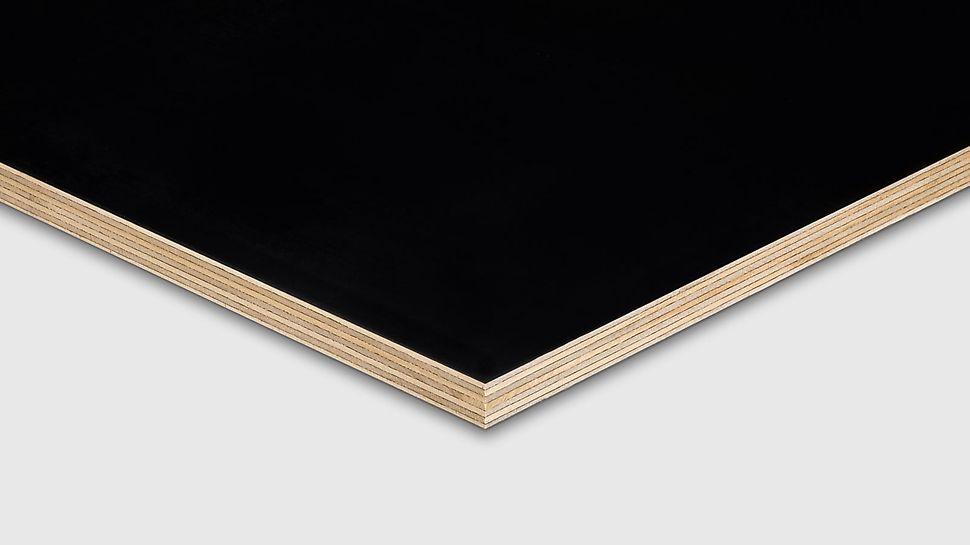 O contraplacado PINE Premium da PERI possui revestimento de elevada qualidade.