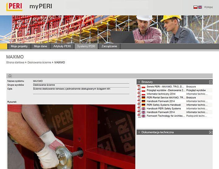 Wystarczy jedno kliknięcie myszą, aby otrzymać przydatne broszury, instrukcje montażu czy dokumentacje techniczno-ruchowe.