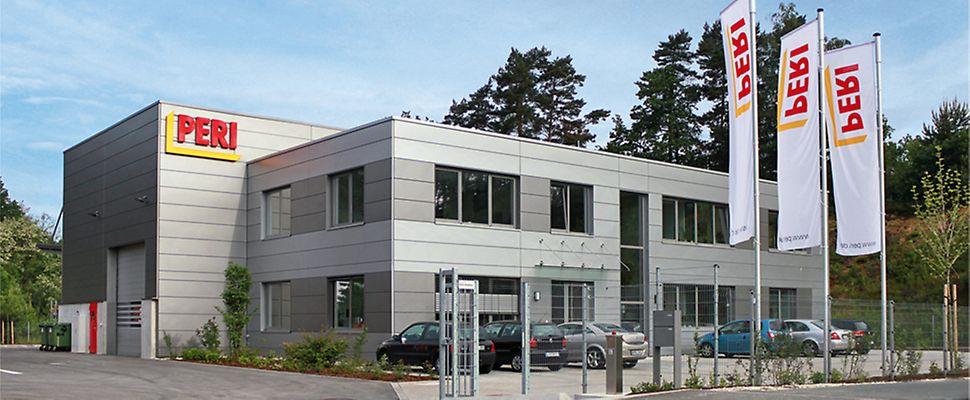 PERI Niederlassung Nürnberg, Gewerbegebiet Bräunleinsberg, Seeäckerstrasse 24, 91233 Neunkirchen am Sand