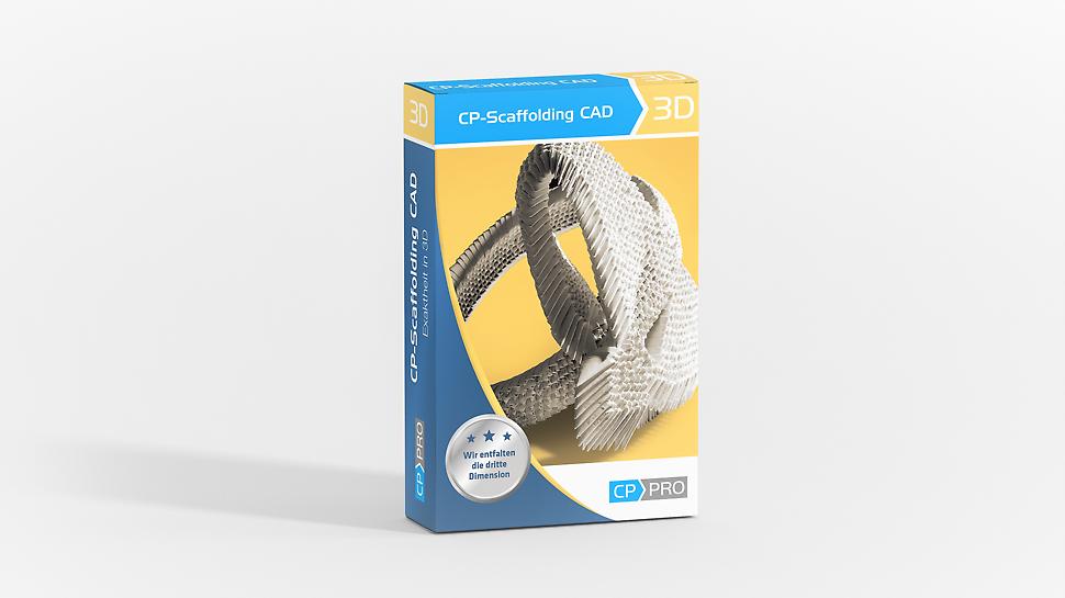 CP-Pro Scaffolding CAD simuliert die Einrüstung von Gebäuden auf Basis des PERI UP Gerüstbaukastens.