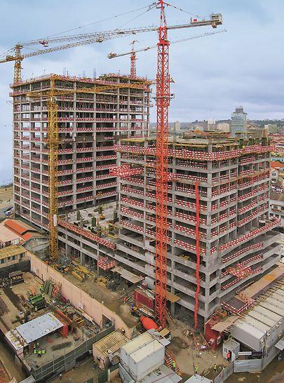 Torres Atlântico, Luanda, Angola - Vista geral do edifício.
