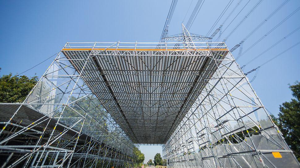 Platformy robocze o rozpiętości do 10,00 m.