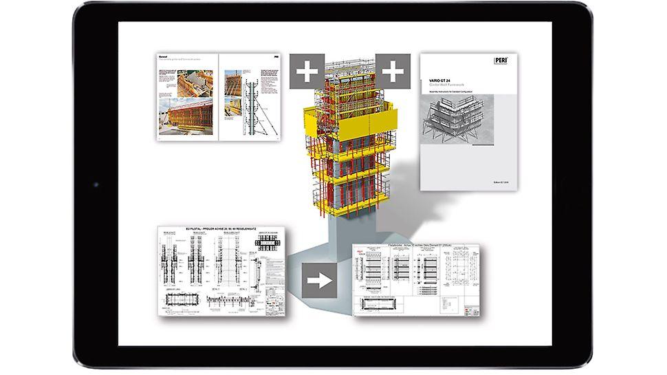 Con la progettazione BIM (Building Information Modeling) PERI sta attualmente pianificando la soluzione di casseforme e impalcature per la costruzione del Ponte Filstal sul collegamento ferroviario Wendlingen-Ulm