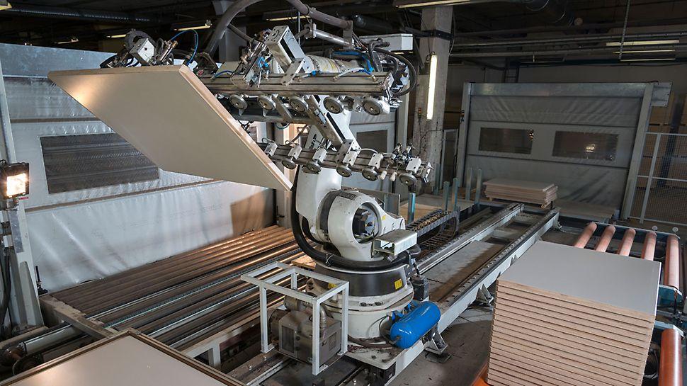 PERI Pave výroba sa uskutočňuje na vysokej techniskej úrovni.