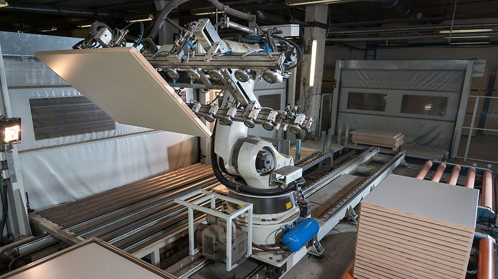 Produkcja podkładów PERI Pave odbywa się na wysokim poziomie technicznym.