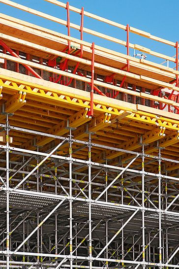 Albian Sands, Fort McMurray, Kanada - PERI rješenje uzelo je u obzir visoke zahtjeve, i u pogledu statike i u pogledu tehničke sigurnosti.