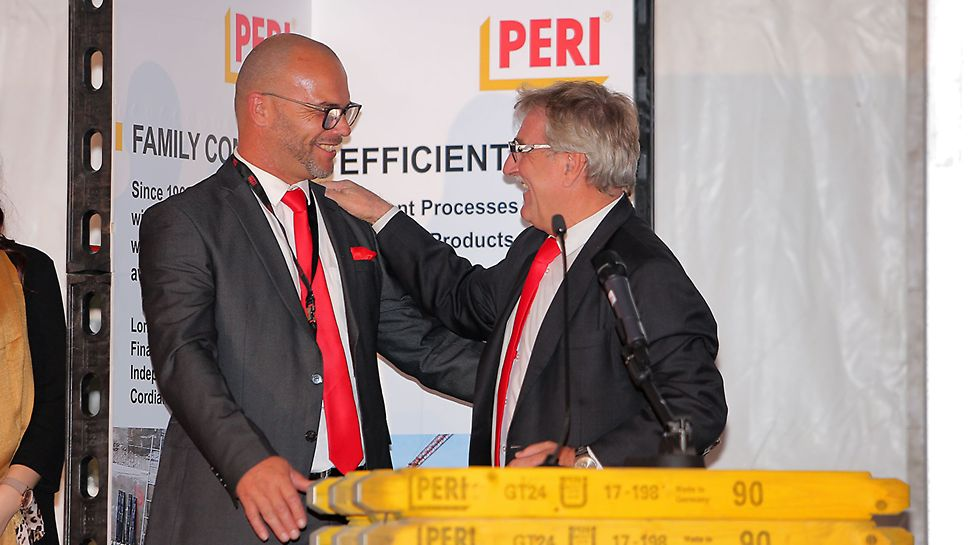 MD Josef Palme & Operations Manager Pedro Amaral