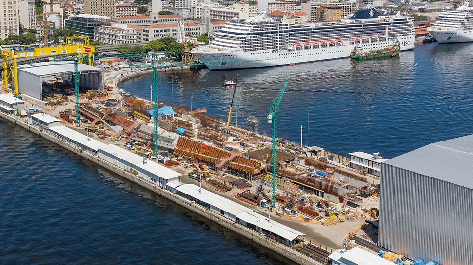 """Museum of Tomorrow, Rio de Janeiro - """"Museum of Tomorrow"""" arhitekta Santiaga Calatrave gura se 300 m u more."""