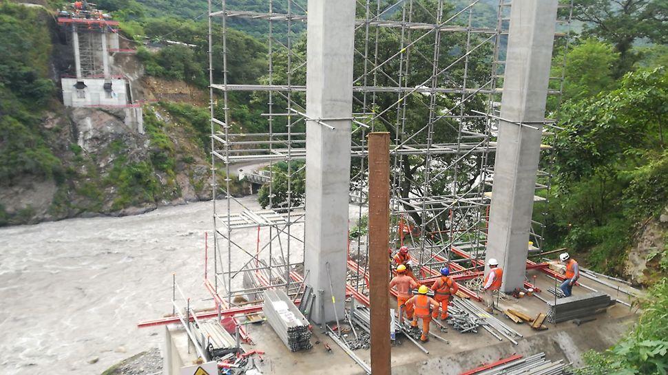 Puente Maranura, cusco, PERI UP Flex