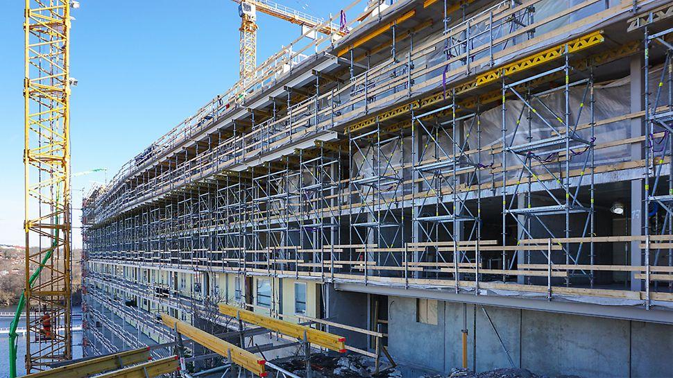 Balkongtorn för understödning till plan 2