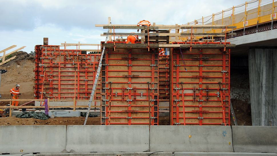 Bro 018: TRIO struktur til brosøjler.