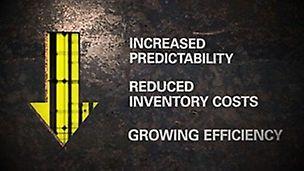 Découvrez comment PERI ISP augmente la prévisibilité, réduit les coûts d'inventaire et augmente l'efficacité globale.