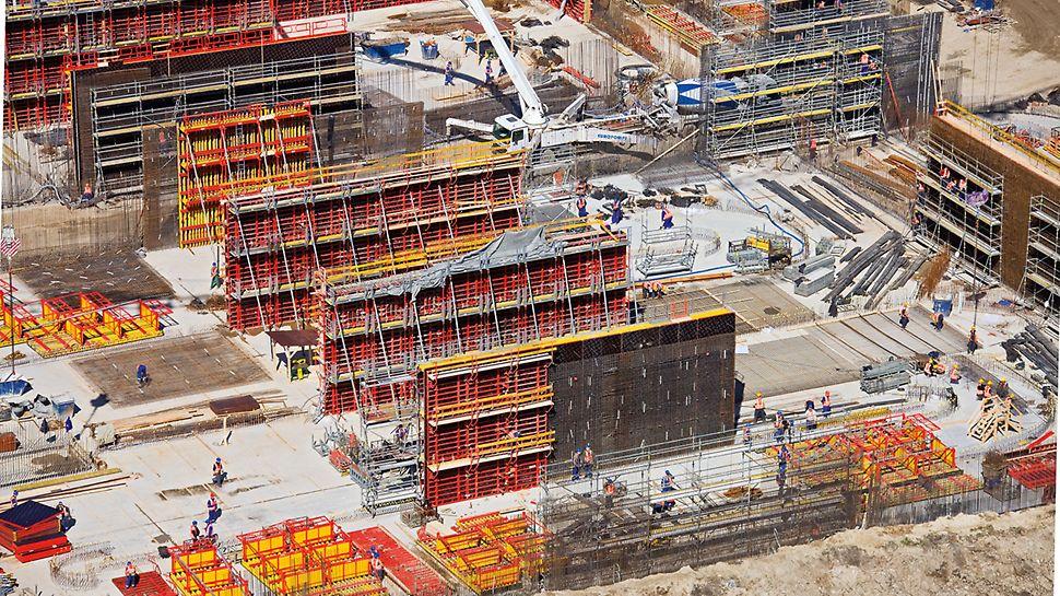 BHP na budowie gwarantuje nie tylko komfort i wysoką kulturę pracy, ale również wysoką wydajność i wymierne korzyści ekonomiczne.
