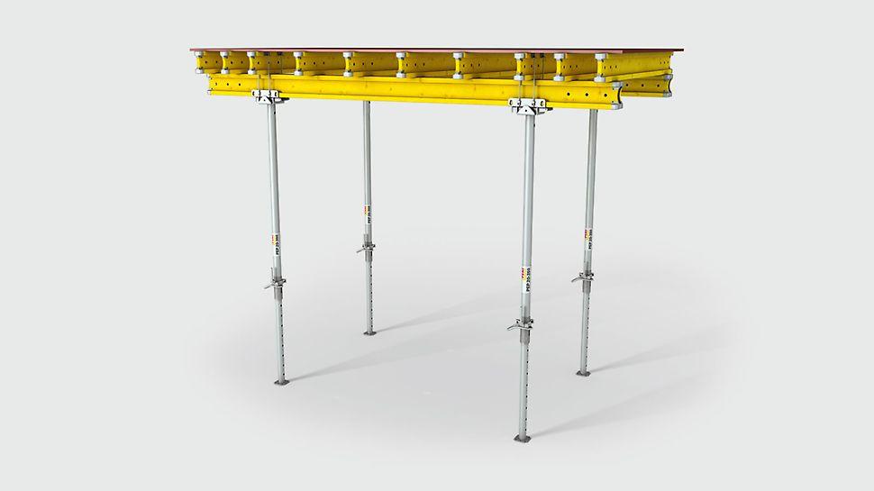TK-pöytäpäätä voidaan käyttää räätälöidyille pöydille GT 24- ja VT 20 -palkkien tai puutavaran kanssa tarpeiden mukaan.