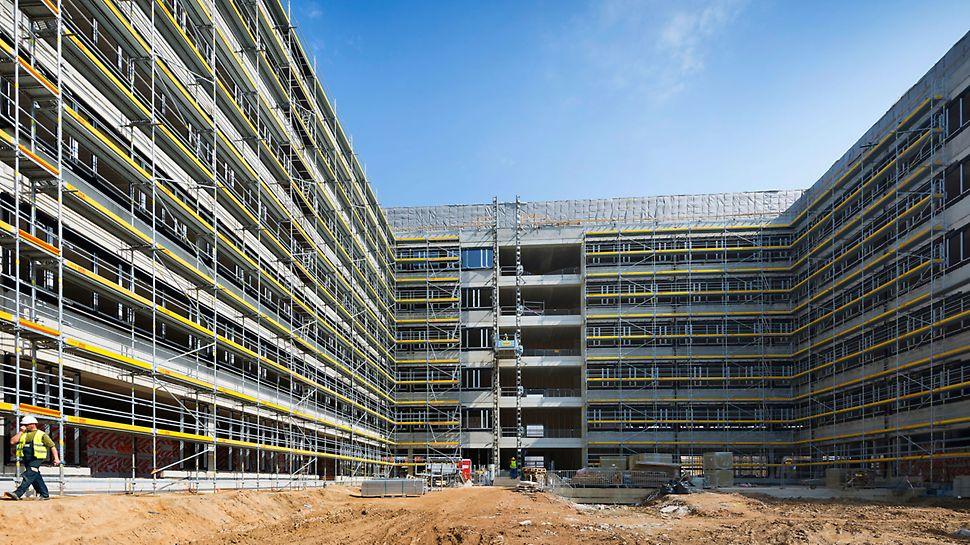 Wysokie wymagania stawiane przez uczestników Porozumienia dla Bezpieczeństwa w Budownictwie to także wysoka jakość i płynny przebieg prac budowlanych.