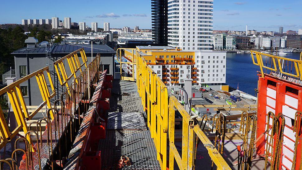 TRIO Housing används vid byggnation av Brohuset i Stockholm.