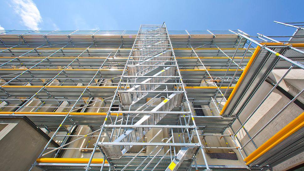 PERI UP Easy - Lätta, snabba och säkra fasadställningen