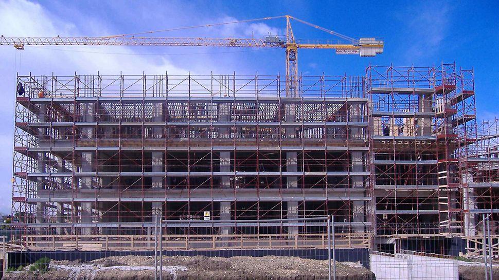 Progetti PERI - Cittadella dell'Economia di Capitanata, Foggia, realizzata con la cassaforma GRIDFLEX