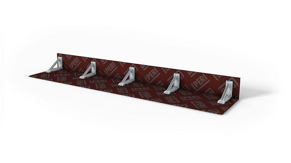 Pro průvlaky do výšky až 60 cm a okraje stropních desek do výšky až 40 cm