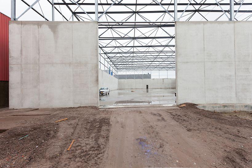 PERI leverde een fraaie 600 m² VARIOKIT wandbekisting om 3.500 m² silowanden te storten.