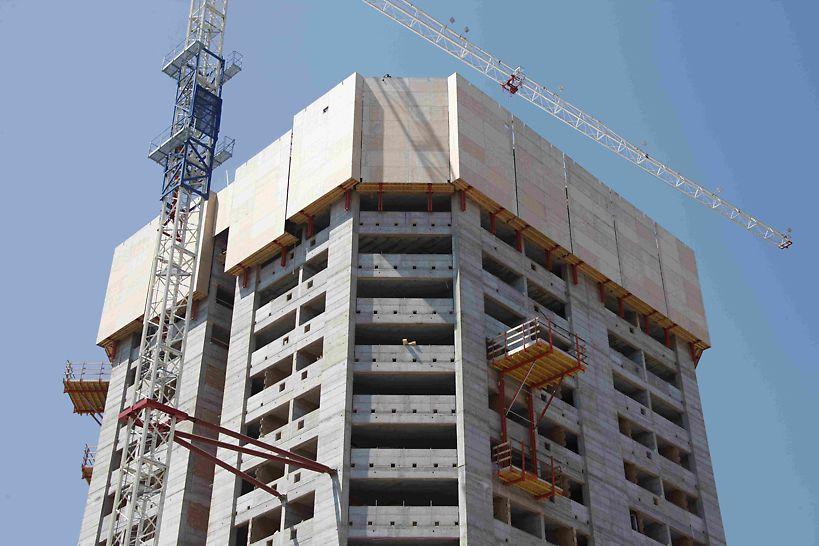 Progetto Torre Pontina, Latina - Grazie a PERI RCS- P l'ambiente di lavoro diventa sicuro