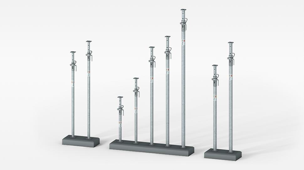 Pocinčani PERI čelični stropni podupirač nosivosti do 50 kN