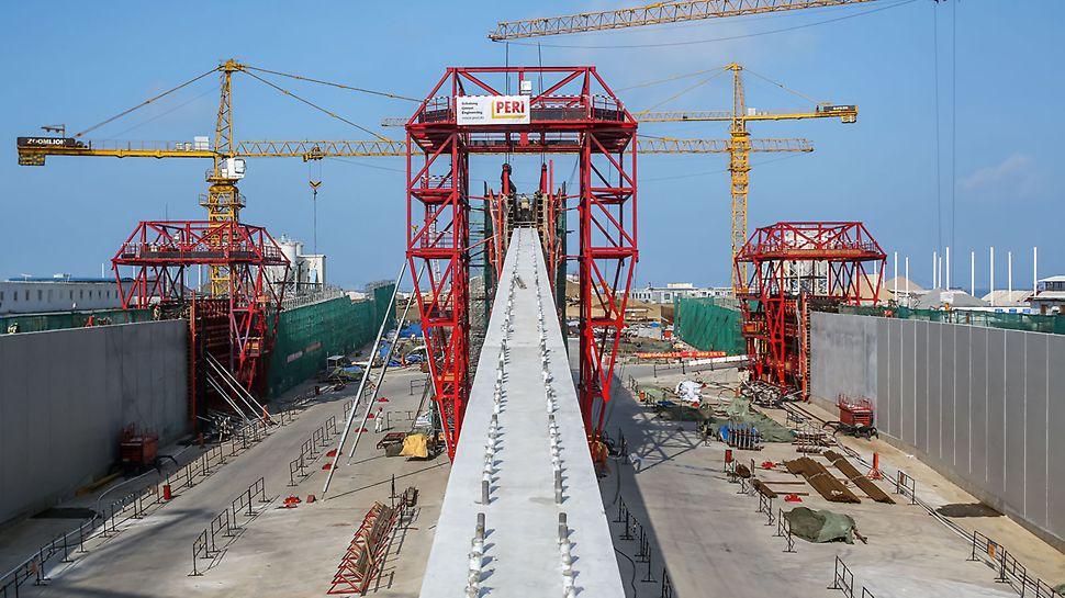 港珠澳大桥,过渡性结构