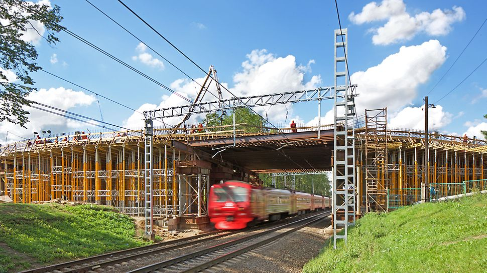 Переделкино, железнодорожный переезд, реконструкция путепровода