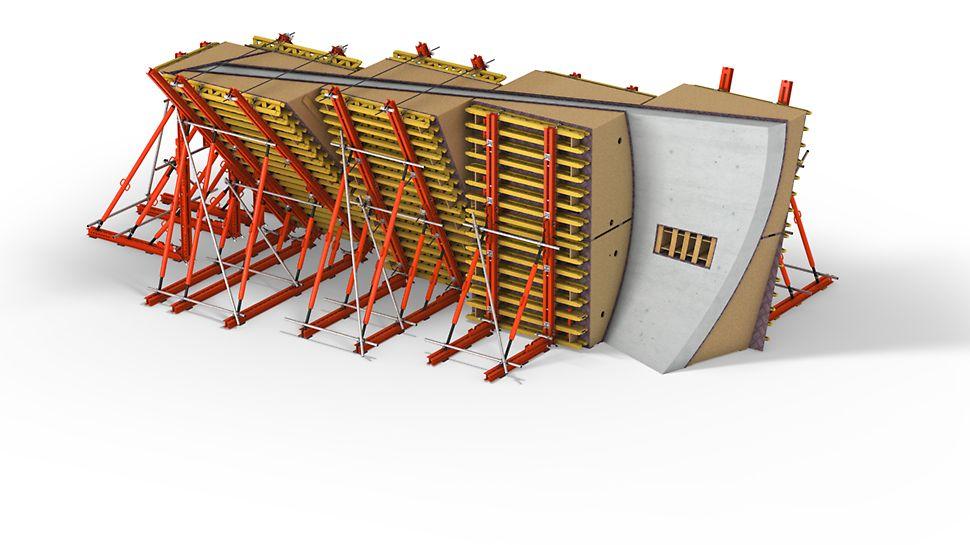 Casseforme speciali - Moduli di cassaforma 3D, pezzi unici assemblati con grande precisione